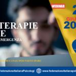 "Webinar 28 giugno ""Psicoterapie online"""