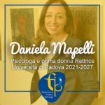 Daniela Mapelli, Psicologa e prima donna Rettrice Università di Padova