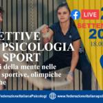 """Webinar 20 settembre """"Prospettive nella Psicologia dello Sport"""""""
