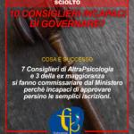 Sciolto l'Ordine Abruzzo: la responsabilità di 10 consiglieri