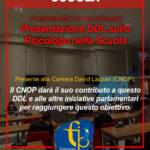 Psicologo a Scuola: presentato il DDL