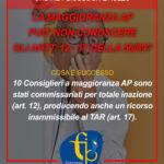 Abruzzo | La maggioranza AP può non conoscere gli artt. 12-17 della 56/89?